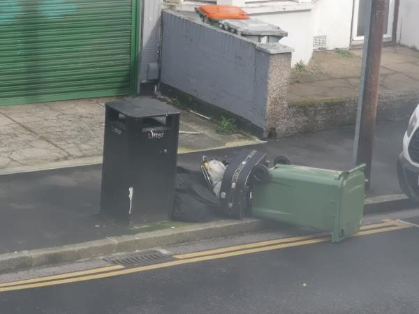 rubbish dumped image 1-55b Frinton Road, London, E6 3EZ