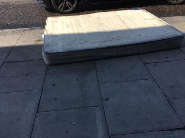 Still on the pavement in Woodgrange Road opposite Smallholders though it is edging towards the road. Needs to be collect ASAP. Thanks-39 Clinton Road, London, E7 0HD