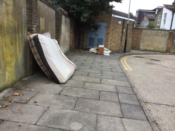 Mattress and items -52 Stondon Walk, East Ham, E6 1LZ