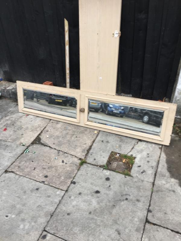 Rubbish dumped-53 Station Road, Manor Park, E12 5BP