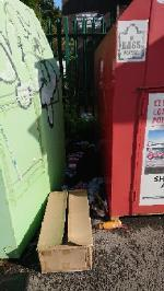 House old waste removedl fly tipping on going at this site  image 1-100 George Street, Reading, RG4 8DH
