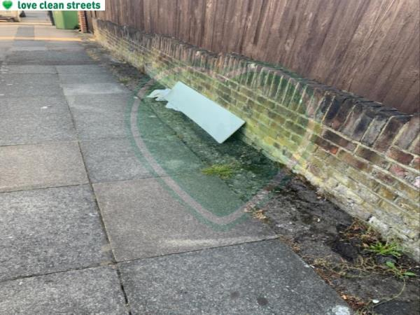 Flytipping -41a Further Green Road, London, SE6 1JJ