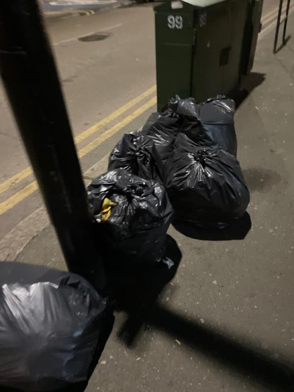 Rubbish -283 Katherine Road, Green Street East, E6 1AT