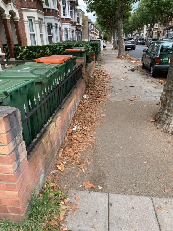 This side of Harold rd is not been like pled after.-183 Harold Rd, London E13 0SE, UK