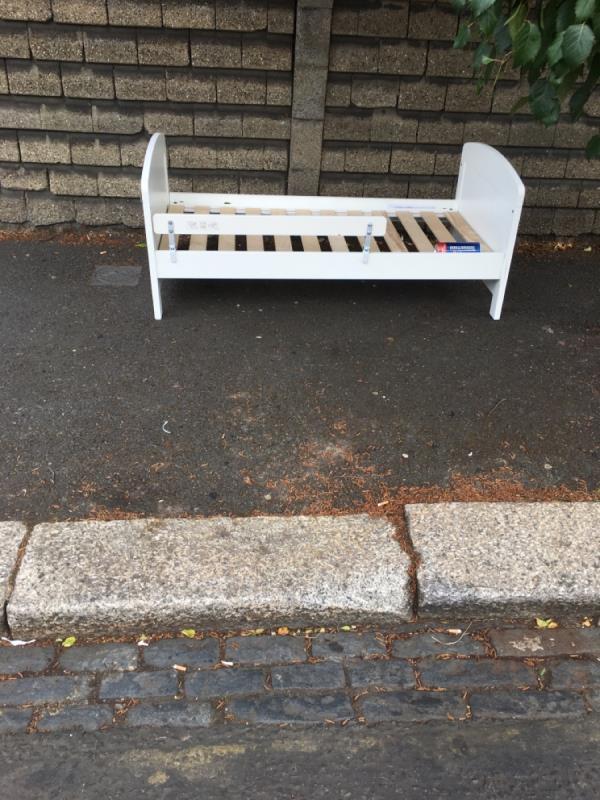Dumped bed -1 Stukeley Road, London, E7 9QQ