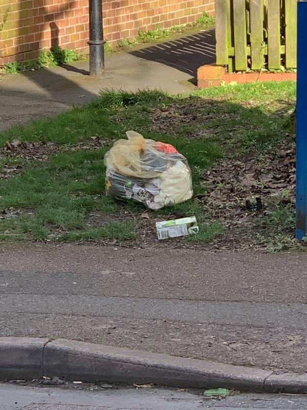 Fly tipping Oak Street resident yet again - I have cctv evidence once again-10 Oak Street, Leicester, LE5 0ET