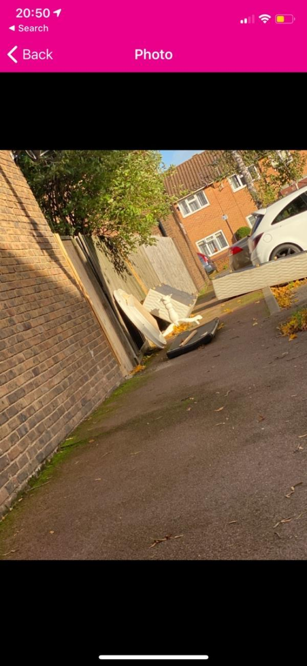 It's almost magical this has been marked as collected but it's still there   I don't know how you do it ?!-10 Birch Close, Canning Town, E16 4QW