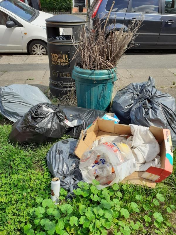 bags of smelly waste and garden prunings.-123 Amity Road, Reading, RG1 3LW