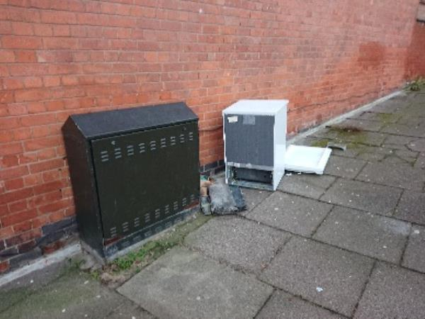 Been here for a week. Regular dumping spot-156 Beatrice Rd, Leicester LE3 9FG, UK