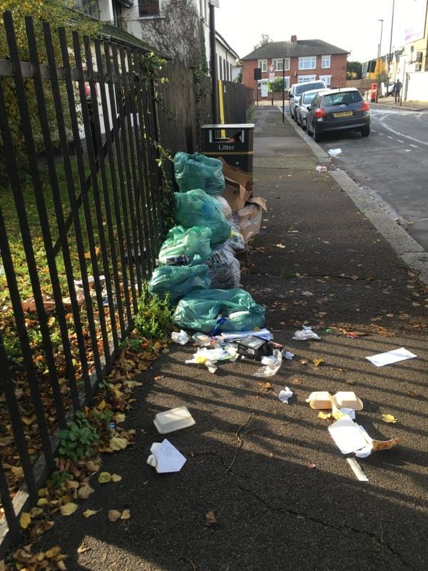 Fly tipping-9 Norman Road, London, E6 3PG