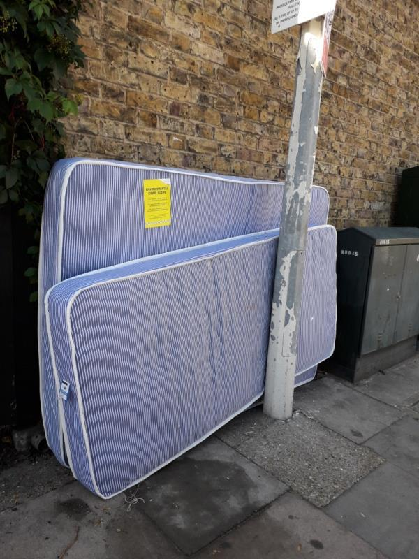 2 x mattresses -104 Keogh Road, London, E15 4NT