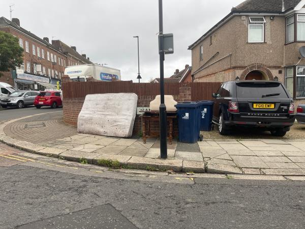 Mattress and table -2a Mansell Road, London, UB6 9EP