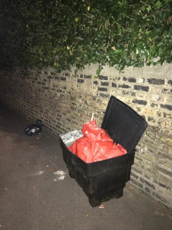 This is on Margery park road dumped by someone can you please remove it-171a Ham Park Road, London, E7 9LE