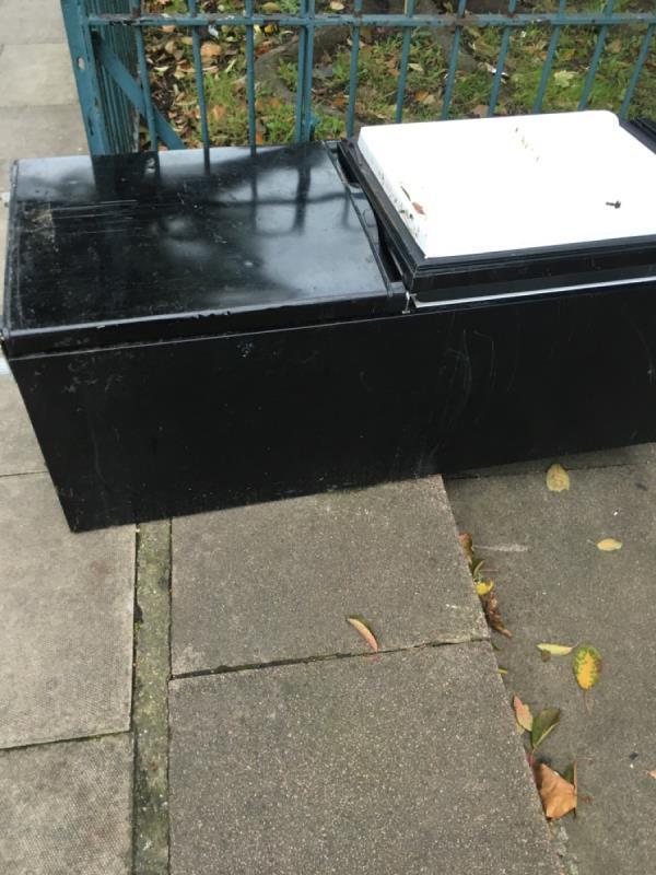 Rubbish dumped -64 Portway, London, E15 3QG