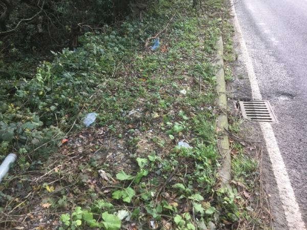 The road gully only clears the surface water slowly allowing a large pool of water to build up on the carriageway The gully discharges into a ditch but attempts to rod the pipe hit a solid obstruction approximately half way to the gully -The Old Brickworks, Shoreham Rd, Henfield BN5 9SE, UK