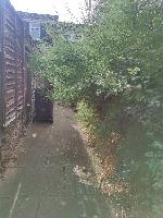 There are so long bushes behind our house. It's so difficult for us to walk especially disable and elderly.-163 Goodwood Road, Leicester, LE5 6TR