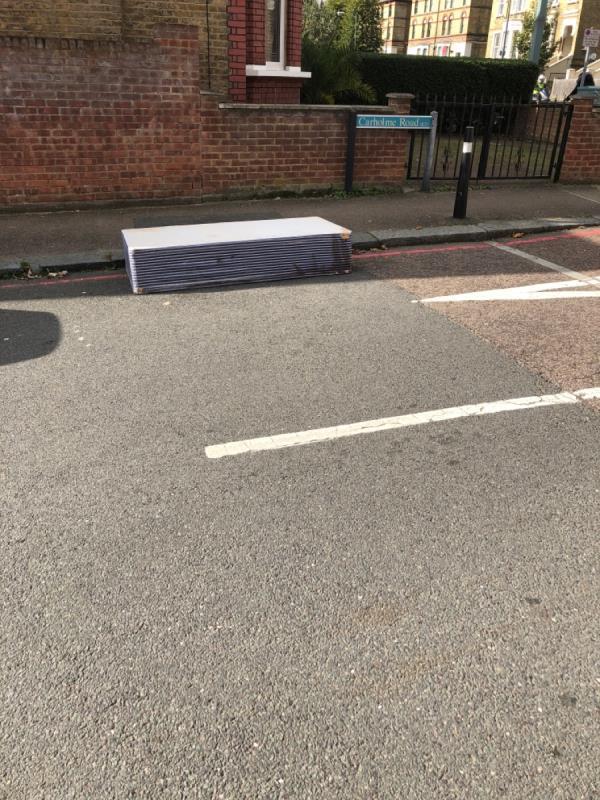 Please remove mattress -278 Stanstead Road, London, SE23 1DE