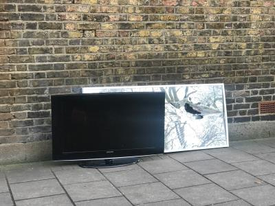 Flytipping needs clearing.  -1a Osbaldeston Road, London, N16 7DJ