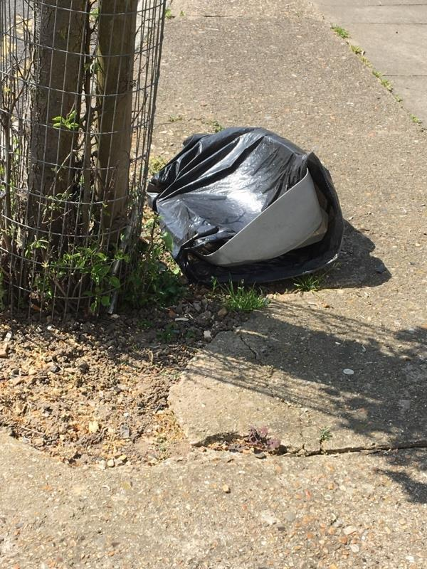 Rubbish dumped -10 Eric Rd, Forest Gate, London E7 0AY, UK