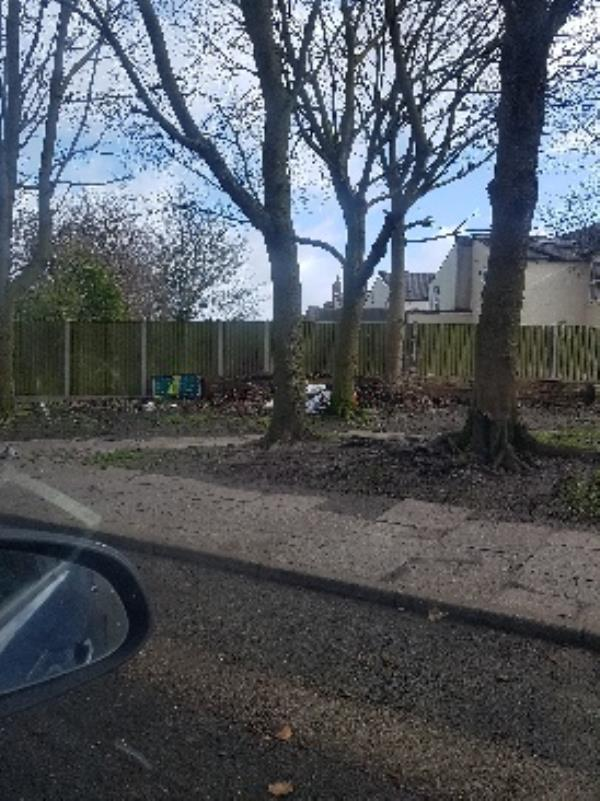 Litter and fly tipping on the dead end St off Haggar St-7 Haggar Street, Wolverhampton, WV2 3ET