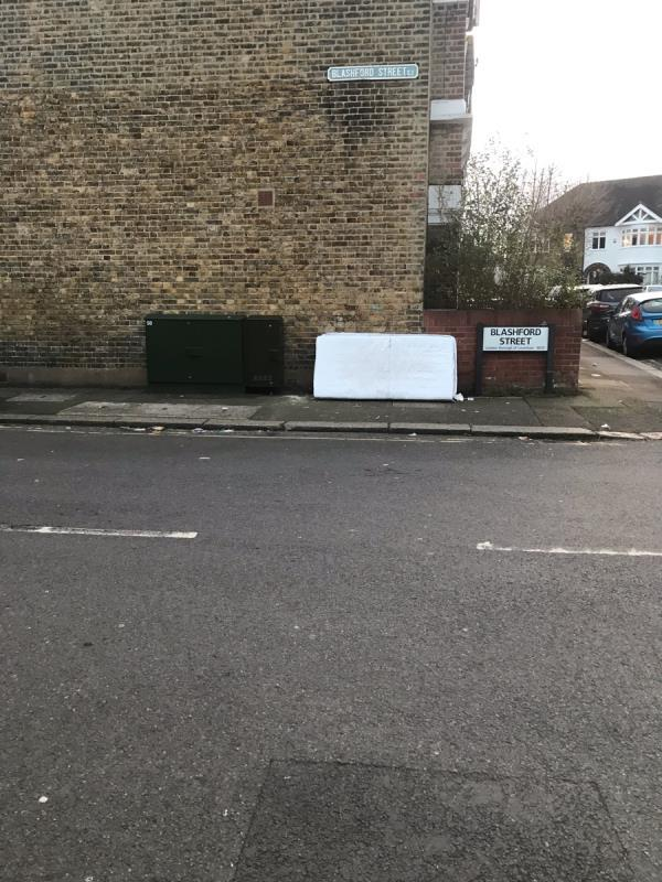Dumped mattresses-30 Woodlands Street, London, SE13 6TX