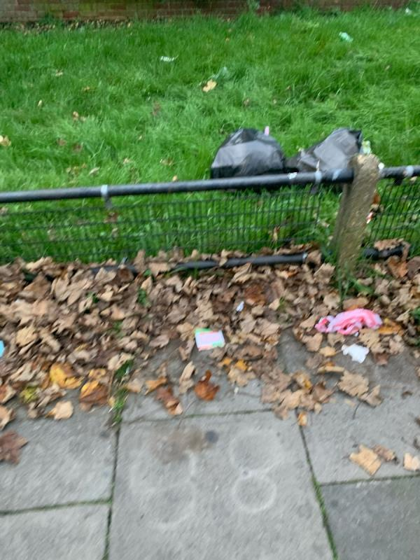 Far too many fly tipping items like mattress and card board and the whole front bit is filthy - It's right behind the BT Telephone booth image 1-997 Romford Road, Manor Park, E12 5JR