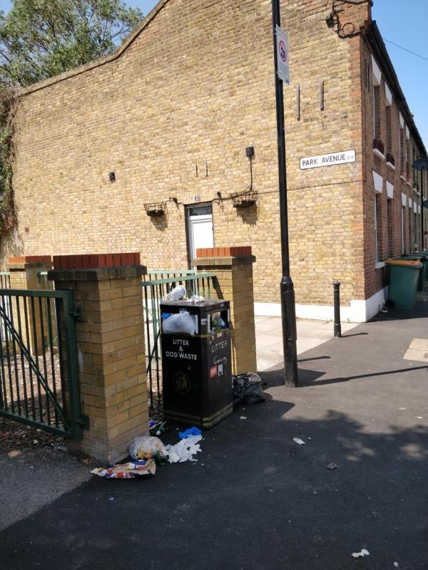 Flytipping beside 11 Manbey Road E15-11 Manbey Road, London, E15 1ET