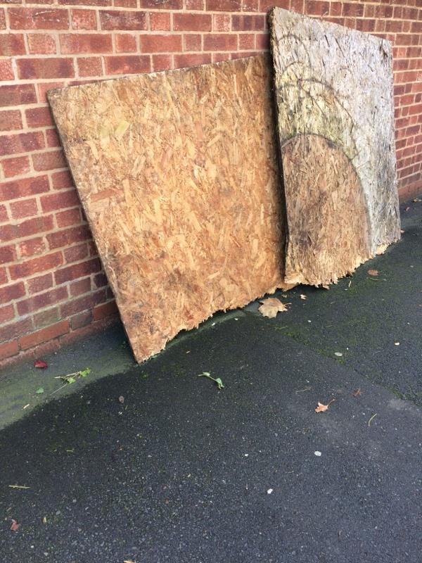 Fly tipping -228 High Street South, London, E6 3RT