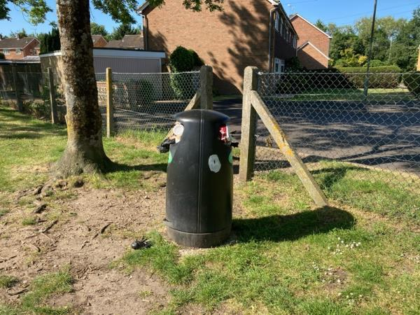 Bins -58 Ambleside Close, Farnborough, GU14 0LA