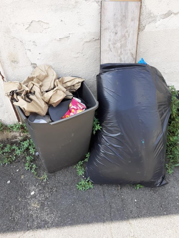 bags of rubbish on pavement-20 Amity Street, Reading, RG1 3LL