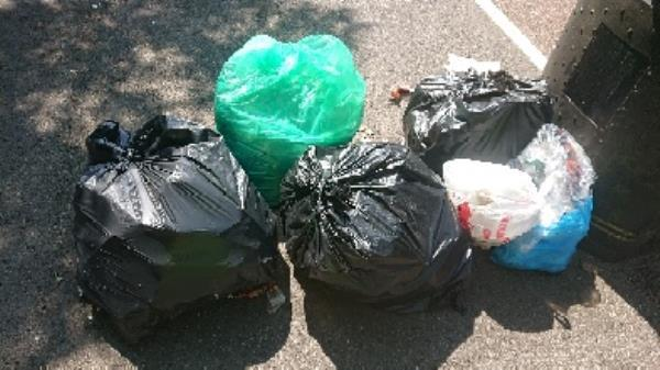 House old waste removed fly tipping on going at this site -297 London Road, Reading, RG1 3NZ