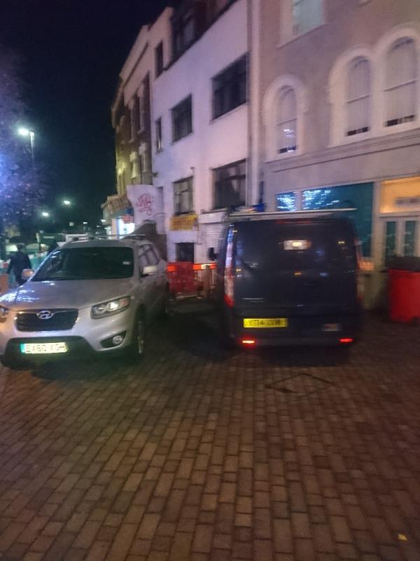 New market place being used as a carpark -8a Sebert Road, London, E7 0NQ