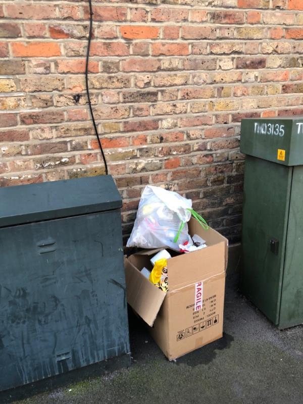 Rubbish-16 Knox Road, London, E7 9HR