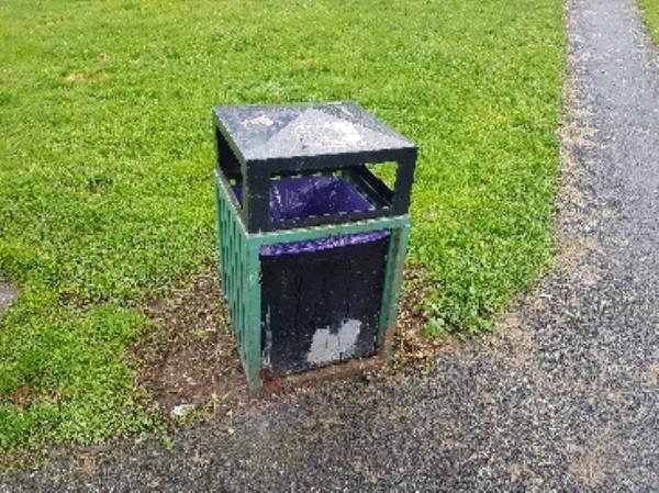 missing door of bin on George st open space-17 George Street, Wolverhampton, WV2 2LN