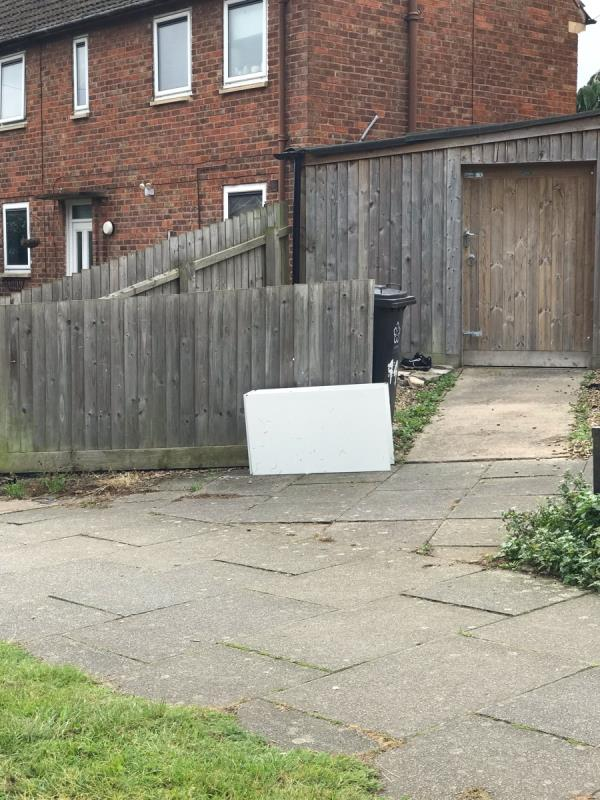 Cupboard dumped in the street -42 Pindar Road, Leicester, LE3 9RJ