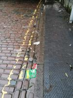 Rubbish in gutters and on path.  image 2-Great Western Inn, 9 Sun St, Wolverhampton WV10 0DJ, UK