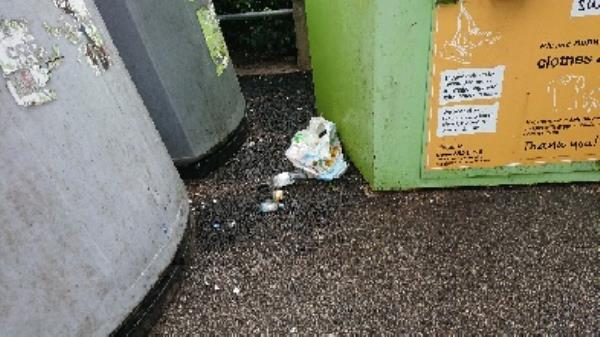 Removed excess bottles. builders bags of rubble  image 2-104 Wokingham Road, Reading, RG6 1JL