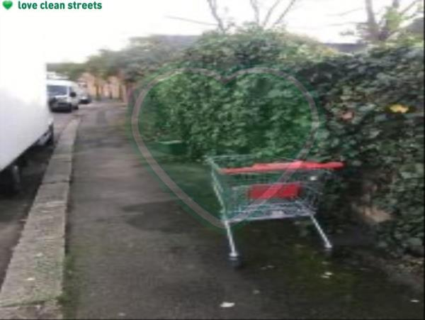 Please clear a shopping trolley-48 Carholme Road, London, SE23 2HS