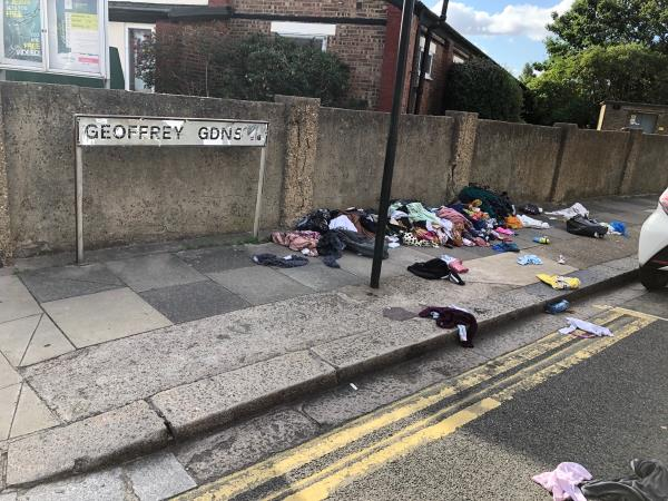 This is a regular occurrence. Children including mine walk past this daily on the way to the park / school / nursery and will be brought up to think this is acceptable.  This fly tipping needs to be stopped.-240 Central Park Road, East Ham, E6 3DL
