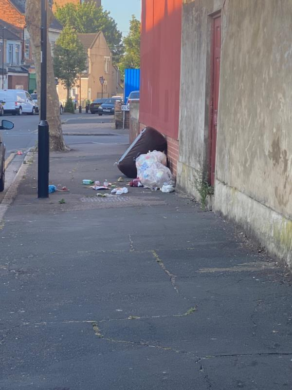Household waste bags opp 361-296 Dersingham Avenue, London, E12 6JX