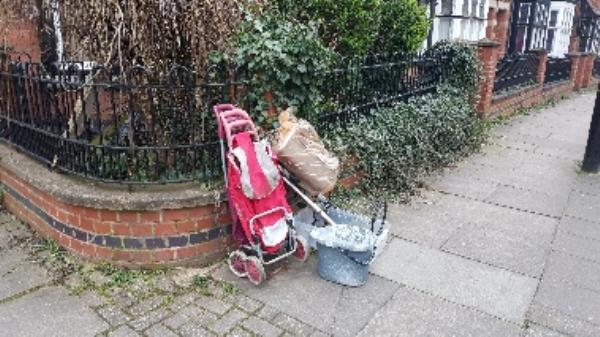 Someone has fly tipped on corner by my house 1 Tennyson St Le21hs -33 Saint James Road, Leicester, LE2 1HR