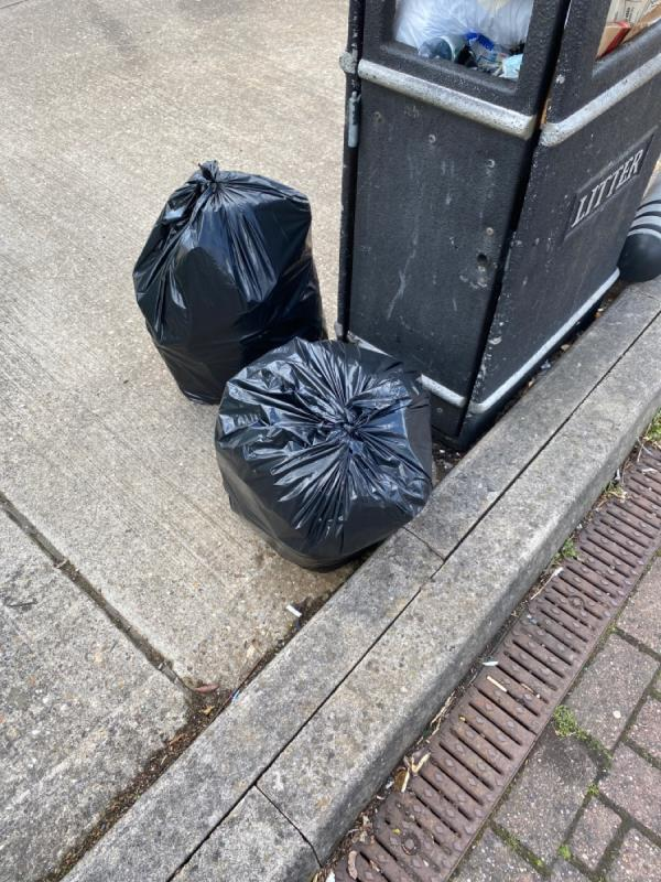 2bags volunteer litter picker -The Counting House, 40 Almond Road, Leicester, LE2 7LH
