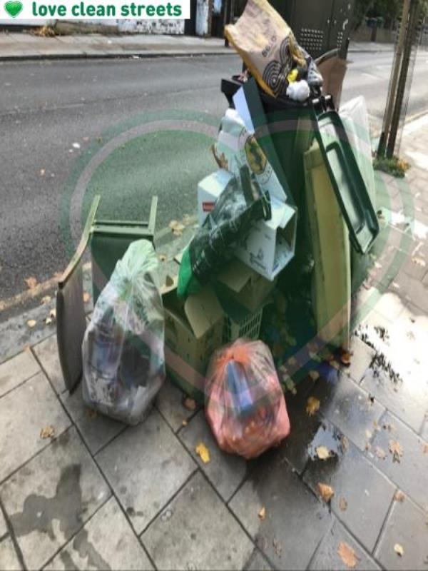 Please clear flytip-132 Hither Green Lane, London, SE13 6QA