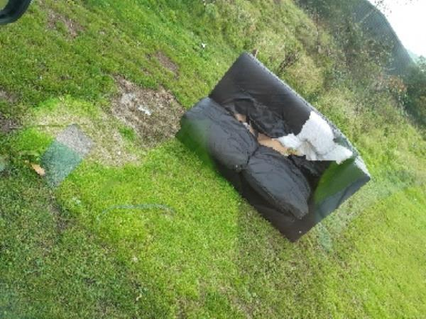 another sofa left by gypsy -38-40 Portman Road, Reading, RG30 1JG