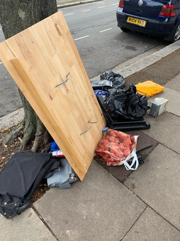 Fly tipping-2 Geere Rd, London E15 3PN, UK