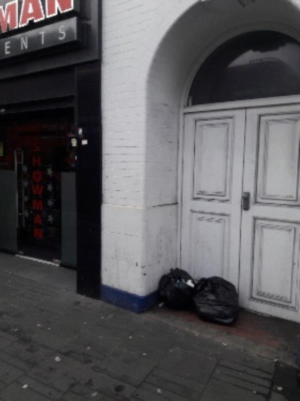 Fly-tipping, 4 Broadway, Stratford Original Ambassador MK-Swan House, 35 Broadway, London E15 4BQ, UK