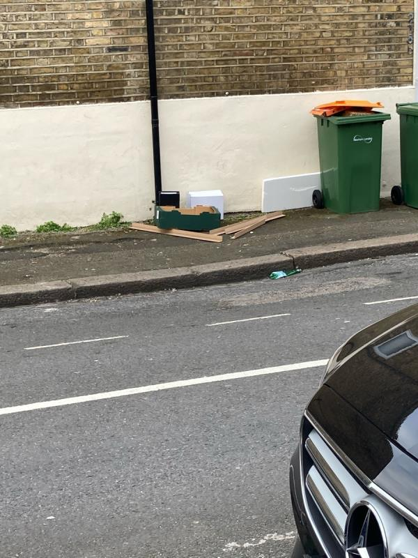 Please do something to stop this on our road. This is terrible. -120a Winkfield Rd, London E13 8RA, UK