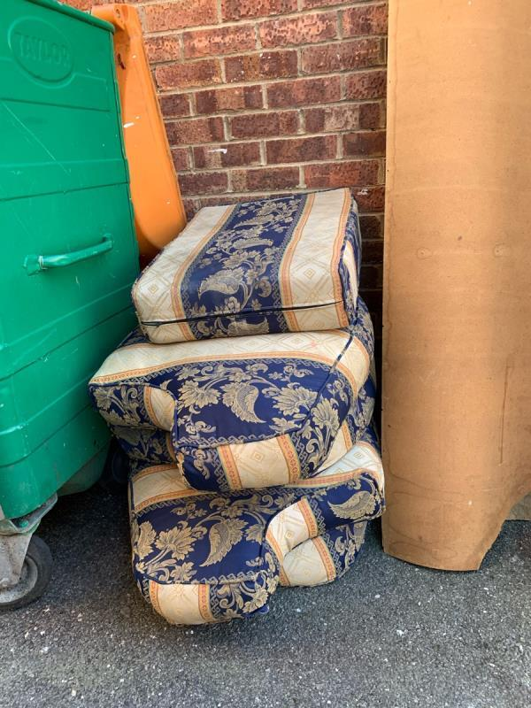Bulk dumped in chenappa close needs picking up ASAP -16 Chenappa Close, London, E13 8DZ