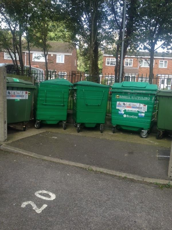 Wash down bin stores-Wensley Court, 193 Wensley Road, Reading, RG1 6EA