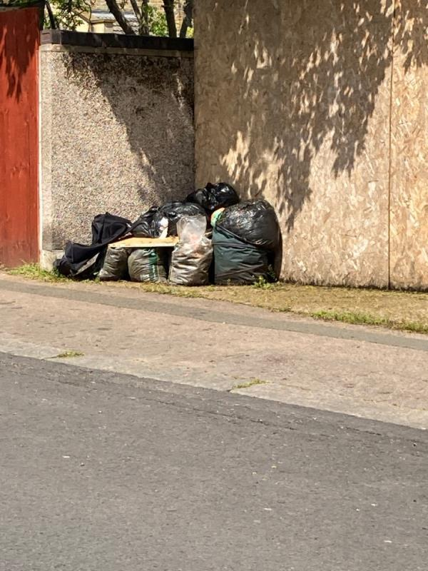 BLACK BAGS -136 Minard Road, London, SE6 1NJ